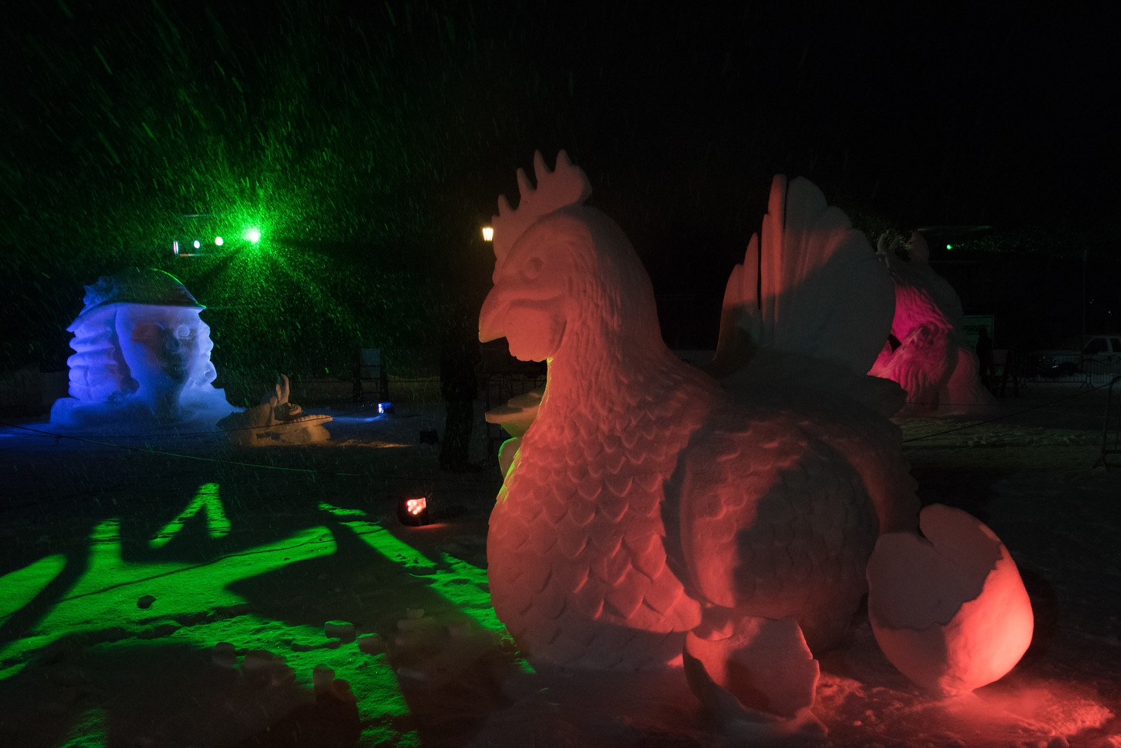 Snow Park at the St. Paul Winter Carnival
