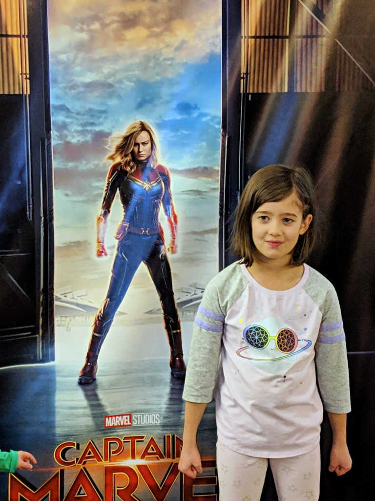 Kendall and CAPTAIN MARVEL
