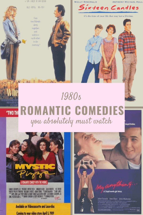Romantic comedies from the 1980s that you absolutely must see. #movies #romantic #entertainment #1980