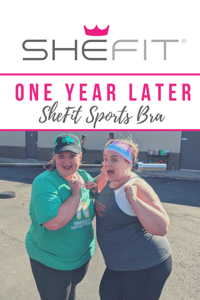SheFit Sports Bra: One Year Later. #PlusSize #fitness #bodypositivity #workout
