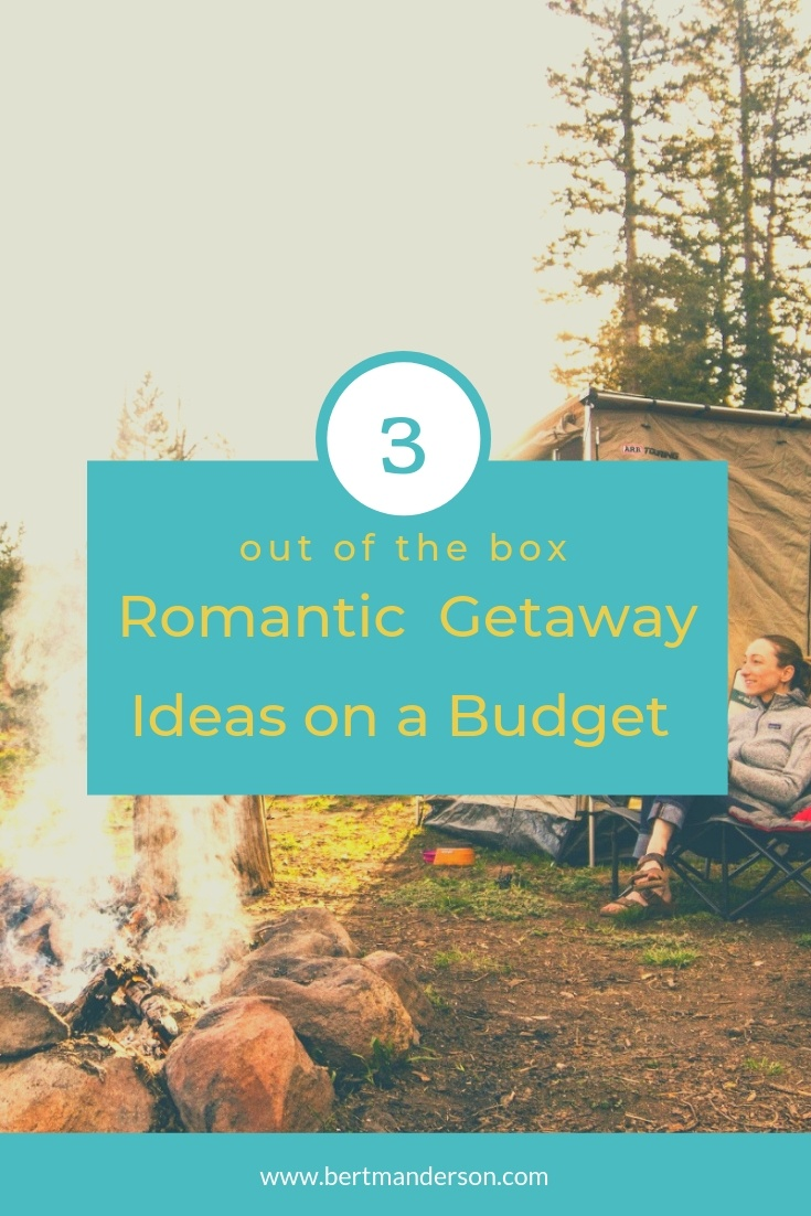 3 out of the box romantic getaway ideas on a budget. #travel #romantictravel #couple #budget #cheap