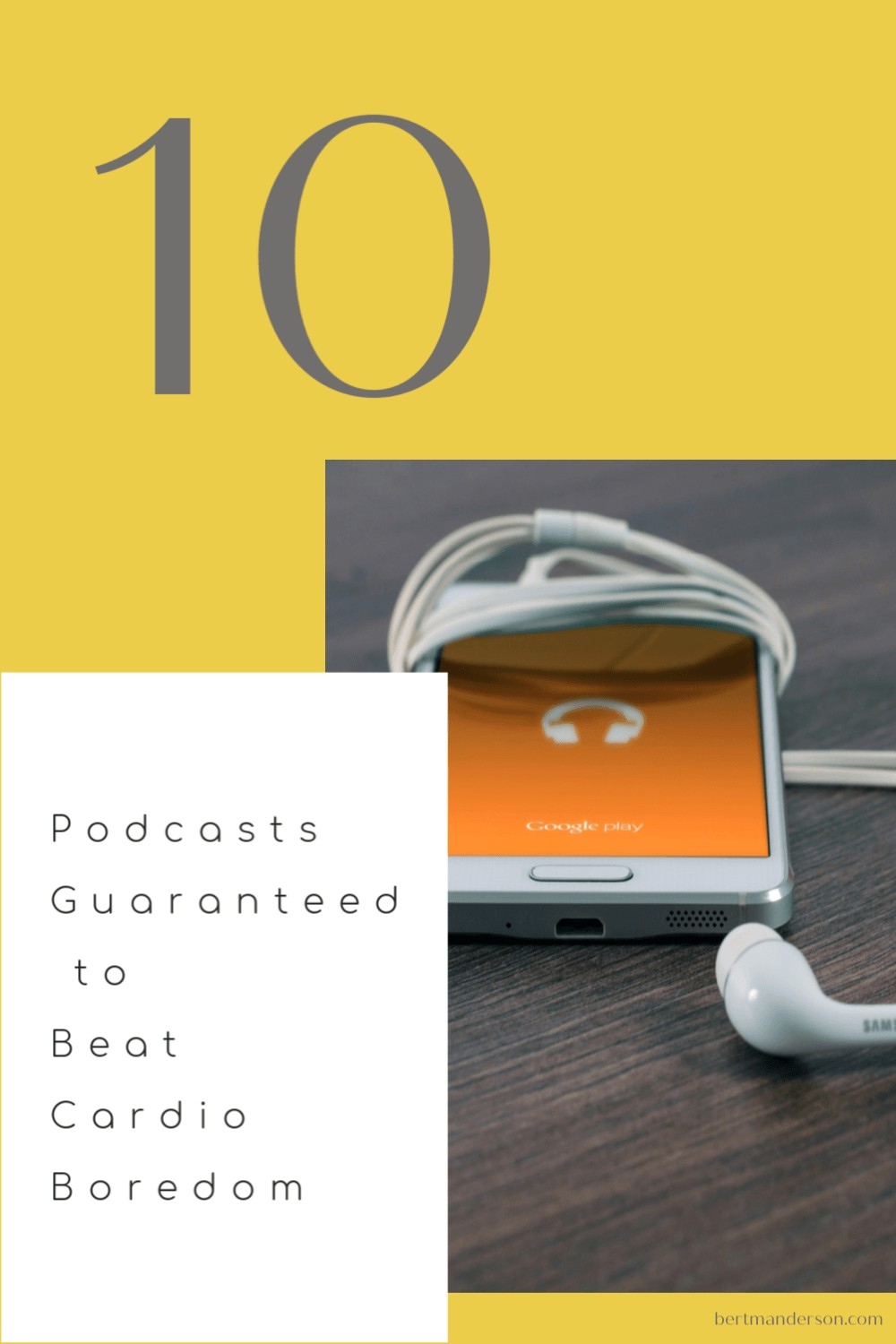 Podcasts to listen to when exercising
