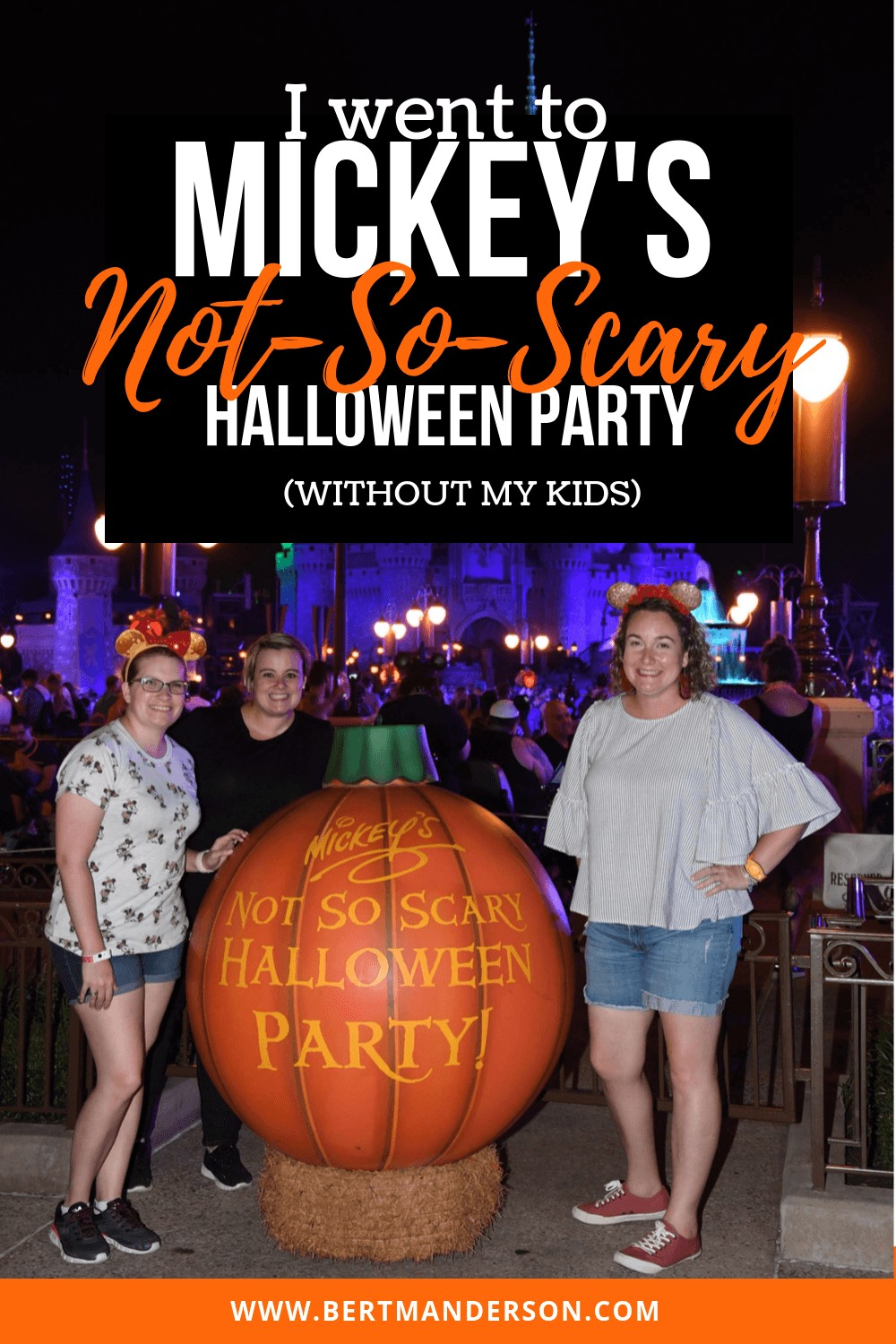 Wanna know if Mickey's Not-So-Scary Halloween Party is worth the price? What about not bringing the kids? Get the details on that and more with this in depth look at what this Disney World party is like for us grown-ups. #disneyworld #notsoscary #halloween