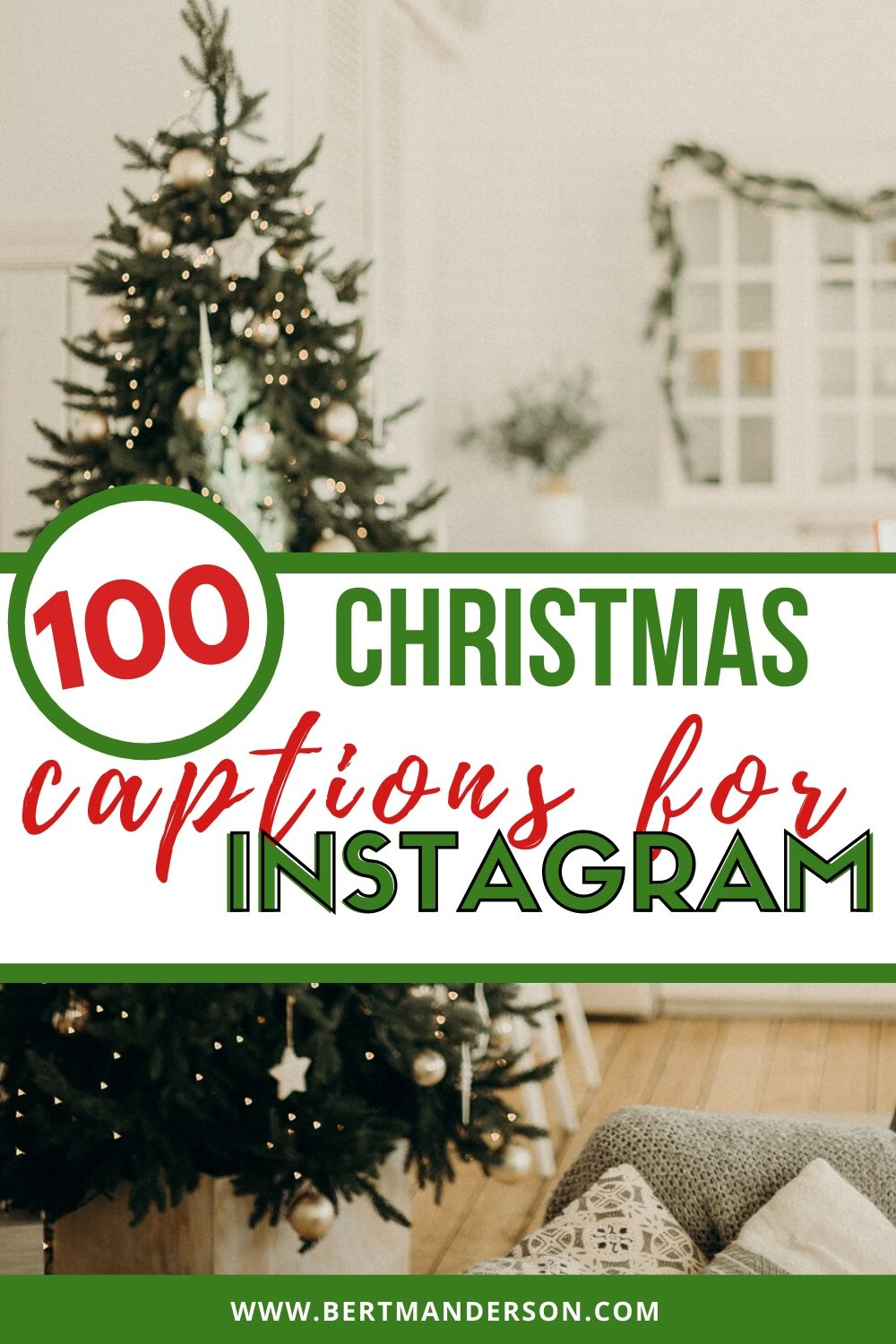 100 Christmas captions for Instagram that you absolutely need to use this holiday season. #christmasquotes #instagramcaptions #christmascaptions #quotesforinstagram