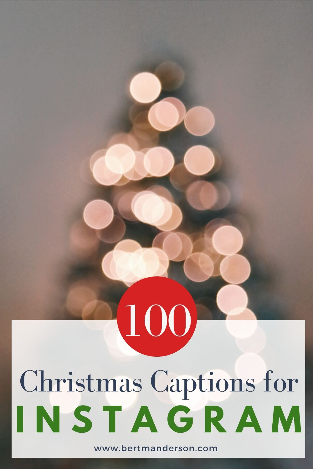 Christmas captions for Instagram. 100 quotes and captions to brighten up your Instagram this holiday season! #christmas #christmascaptions #instagramcaptions