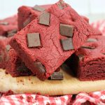 Valentine's Day Red Velvet Chocolate Bars