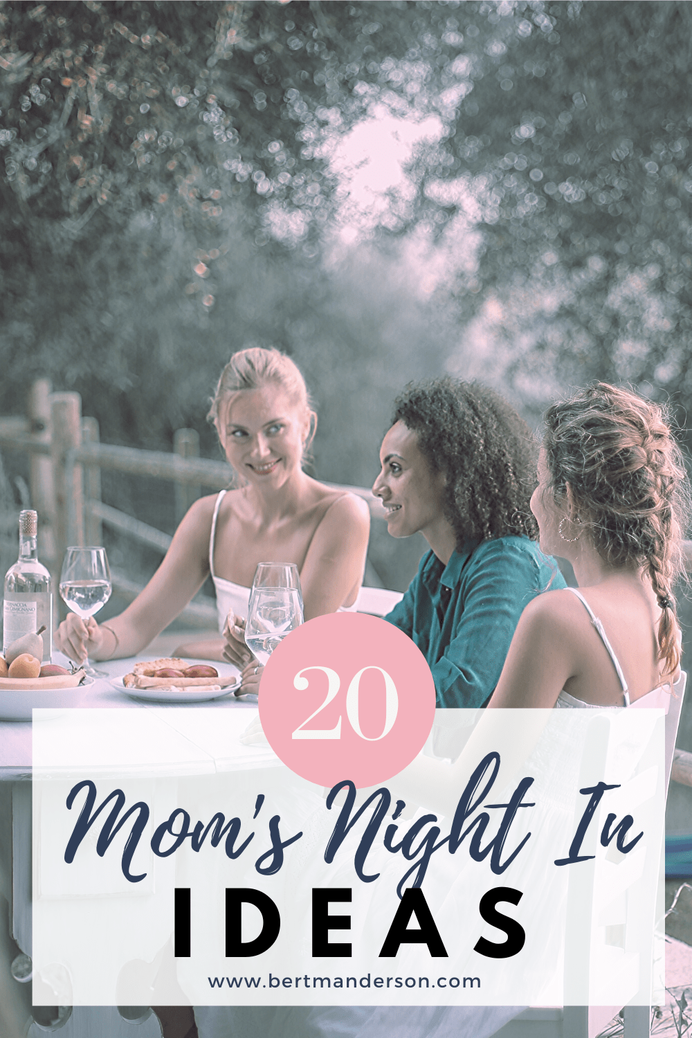 20 moms night in ideas that will bring your girl squad closer together. #partyideas #momsnight #dinnerparty