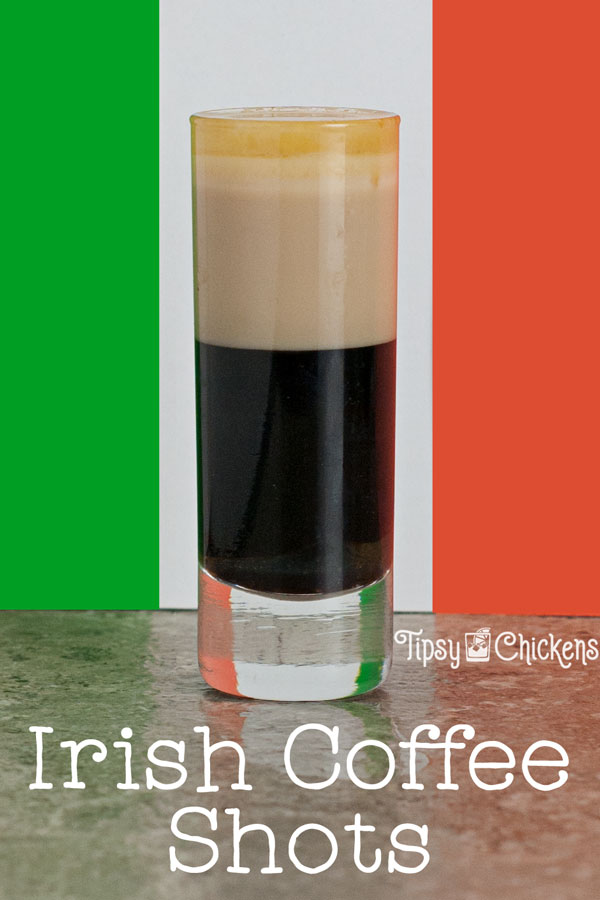 Irish Coffee Shots St Patricks Day drinks