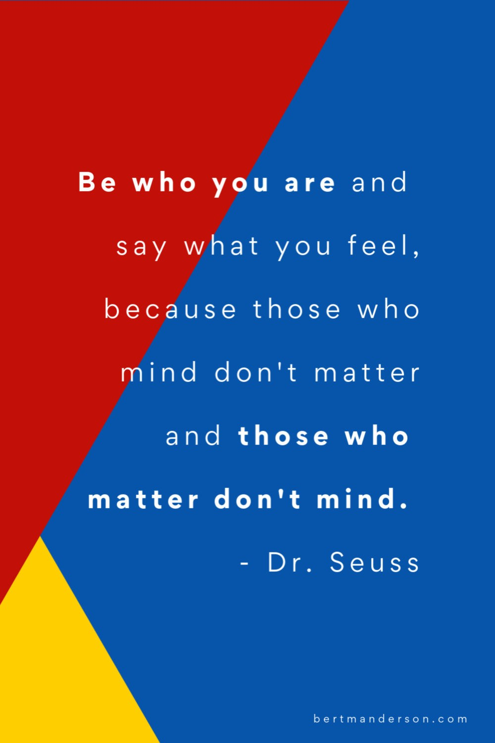 Be who you are - quotes about social anxiety