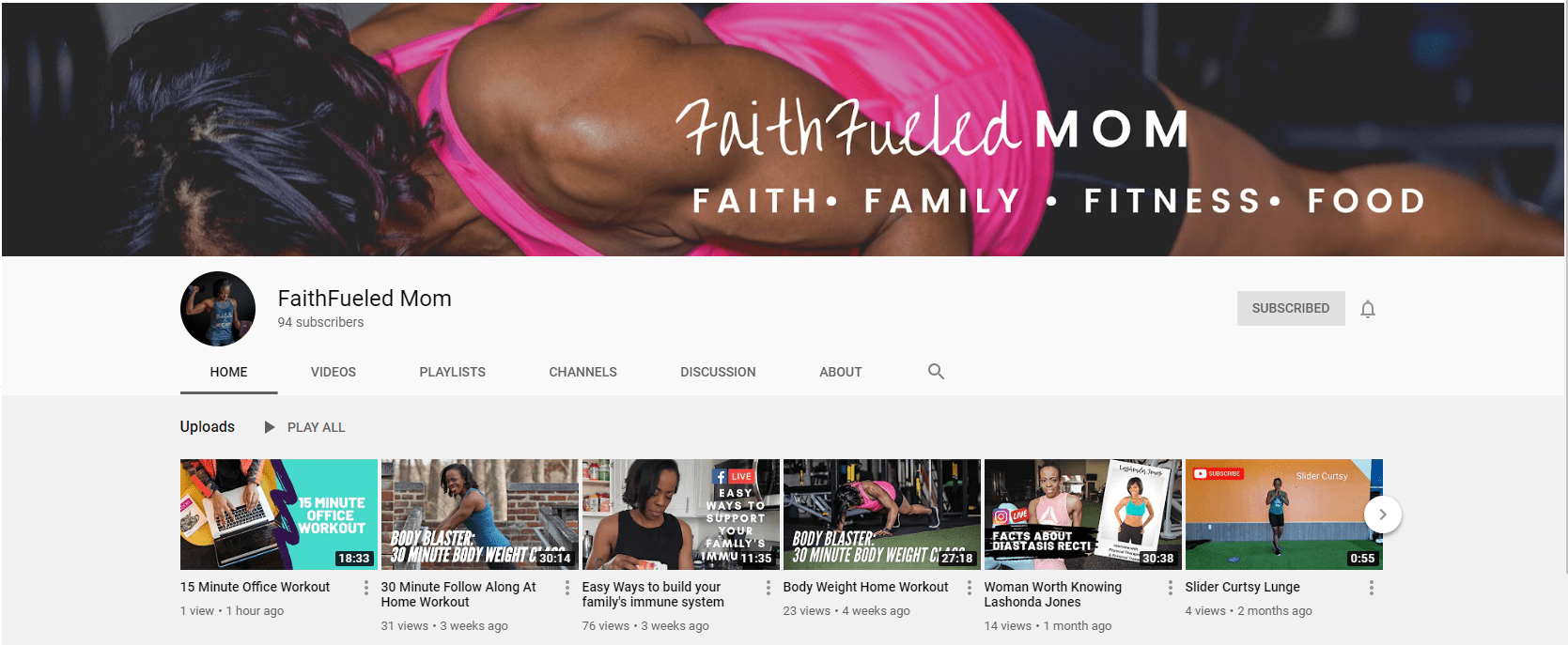 faithfueled mom on youtube influential black voices