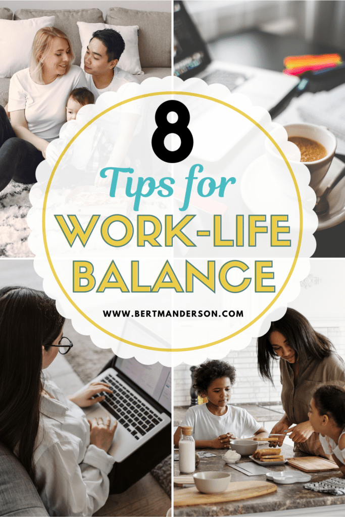 8 Tips for maintaining a positive work life balance while working from home