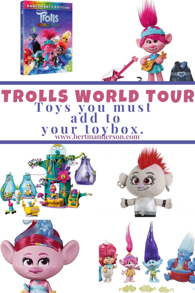 TROLLS WORLD TOUR Toys you must add to your toybox.