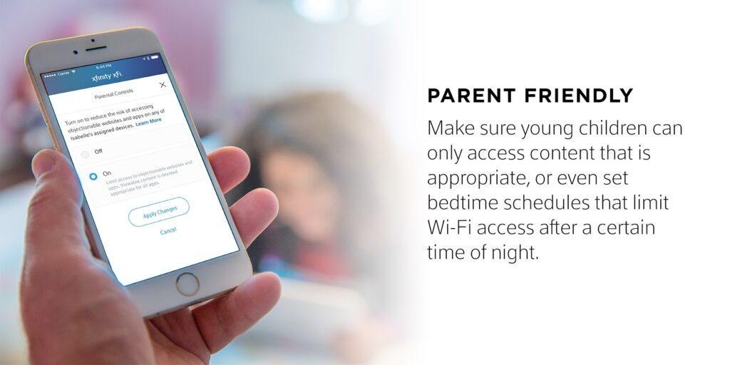 Xfinity Xfi is Parent Friendly