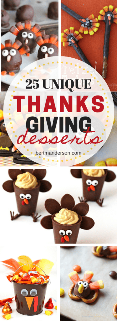 25 unique Thanksgiving desserts to wow your Thanksgiving guests