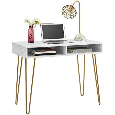 How to decorate my home office with a computer desk from Novogratz.