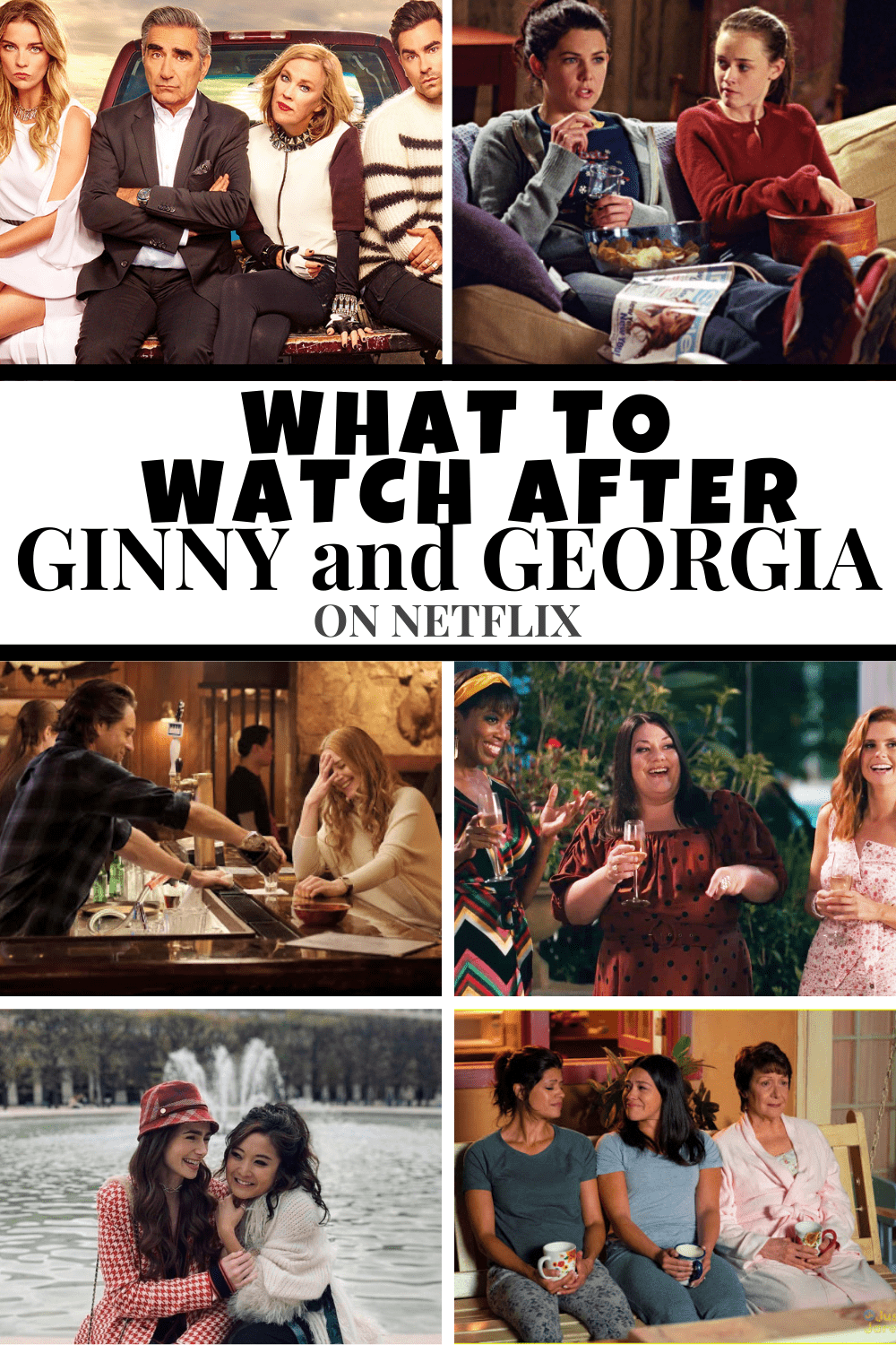 You've binged the Netflix show Ginny and Georgia, now what do you watch? Check out this list for what to watch after Ginny and Georgia that's also happens to be streaming on Netflix.