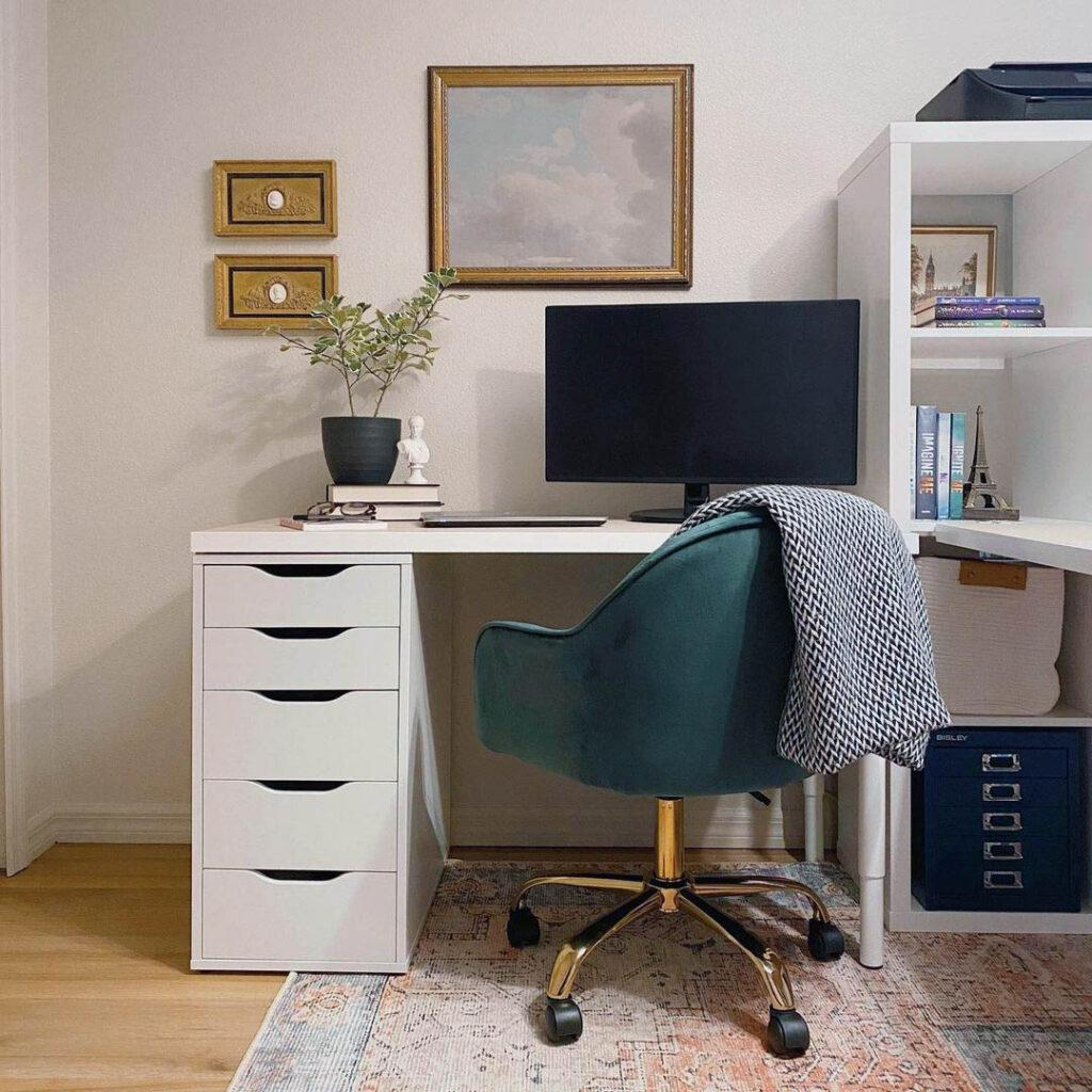 How should I decorate my home office - Clare Beigeing