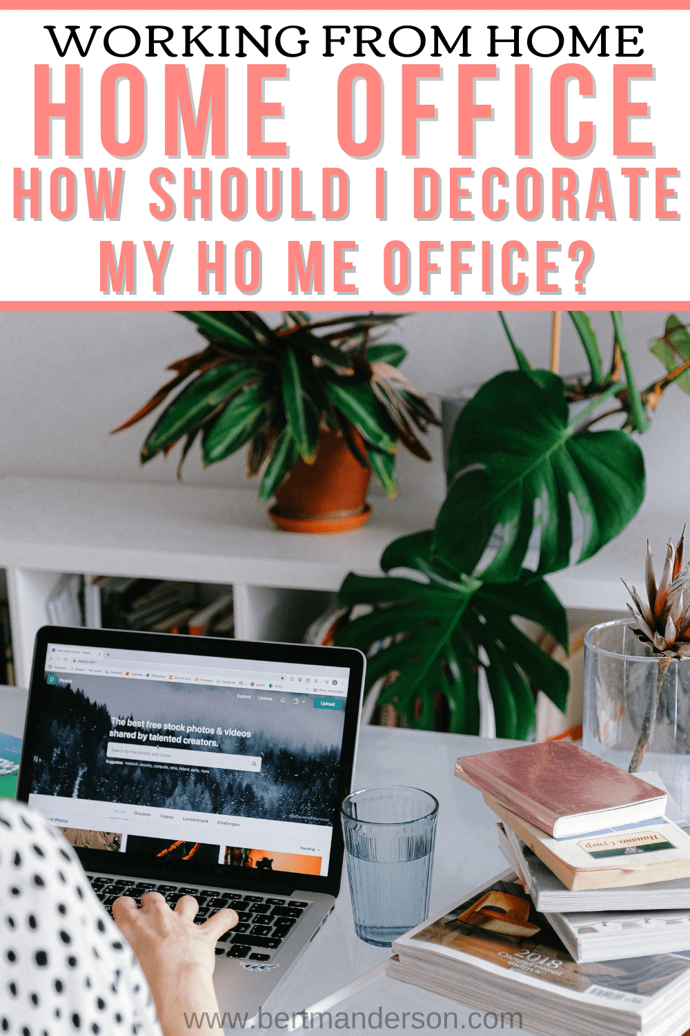 How can I decorate my home office now that I'm working from home? #workfromhome #homeoffice #homeofficedecor