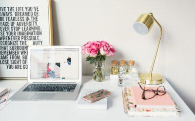 How can I decorate my home office now that I'm working from home?